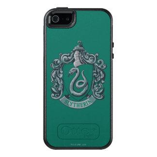 Verde del escudo de Slytherin Funda Otterbox Para iPhone 5/5s/SE