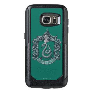 Verde del escudo de Slytherin Funda Otterbox Para Samsung Galaxy S7