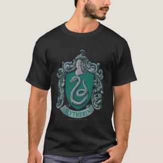 Verde del escudo de Slytherin Playera