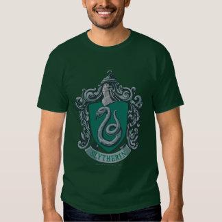 Verde del escudo de Slytherin Remera
