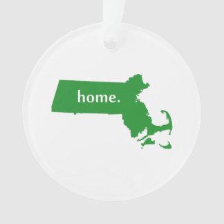 Verde del estado de origen de Massachusetts