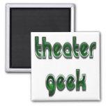 Verde del friki del teatro imanes