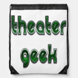 Verde del friki del teatro mochila