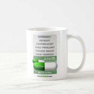 verde del fukitol taza de café