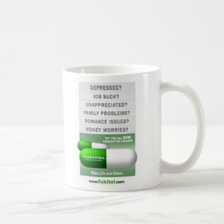 verde del fukitol taza clásica