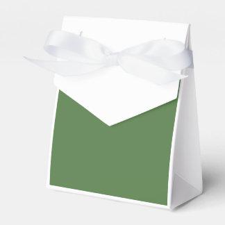 Verde del helecho caja para regalos de fiestas