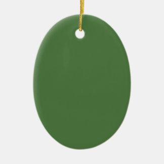 Verde del helecho ornamentos de reyes