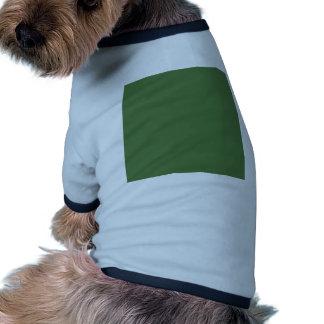 Verde del helecho ropa perro