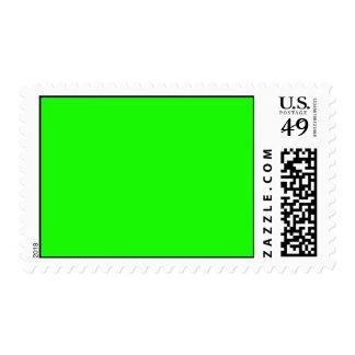 Verde del Highlighter coloreado Sellos