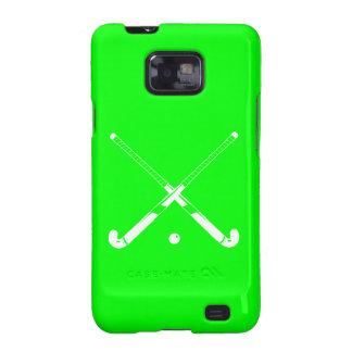 Verde del hockey hierba de la galaxia S2 Samsung Galaxy SII Fundas