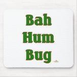Verde del insecto del ronquido de Bah Tapete De Ratón