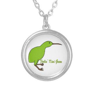 Verde del kiwi de Feelin Joyeria Personalizada