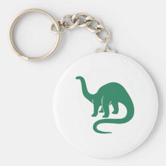 Verde del llavero del dinosaurio
