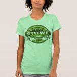 Verde del logotipo de Stowe Camiseta