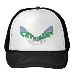 Verde del logotipo del Catwoman Gorro
