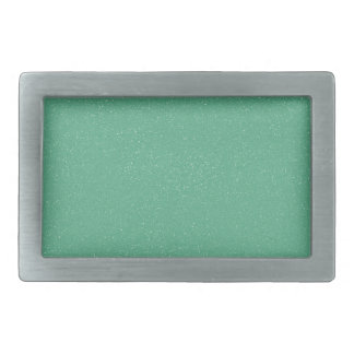 Verde del lucite de PANTONE con falso brillo fino Hebilla De Cinturon Rectangular