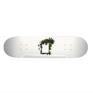 Verde del marco de la palmera y black.png patinetas personalizadas