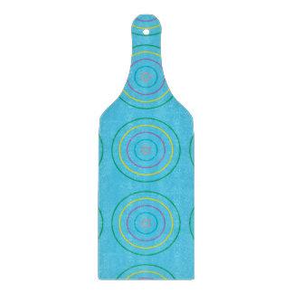 Verde del modelo de los anillos azul claro tablas de cortar