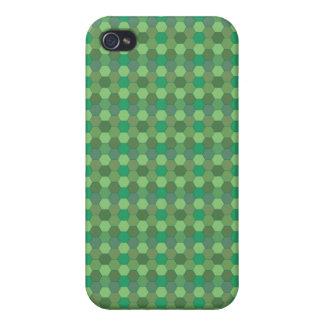 verde del modelo del peine de la miel iPhone 4/4S carcasa
