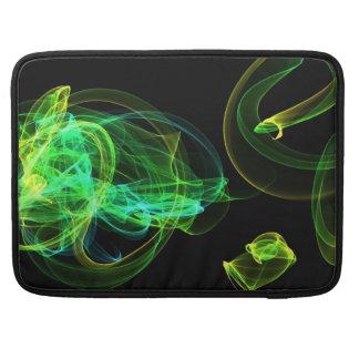 verde del neón fundas macbook pro
