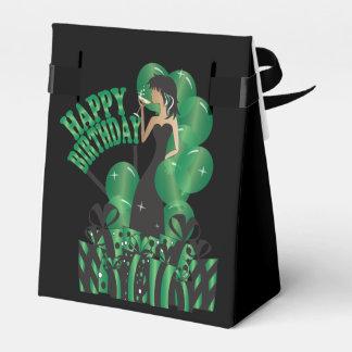 Verde del nombre el   del chica el   DIY de la Cajas Para Regalos De Boda