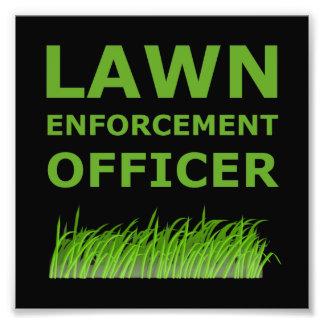 Verde del oficial del césped fotografías