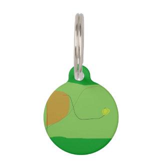 Verde del pan placas para mascotas