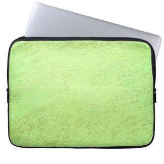 Verde del pistacho fundas portátiles