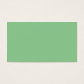 Verde del pistacho tarjetas de visita