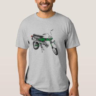 Verde del rastro 70 de la bici de los años 70 del poleras