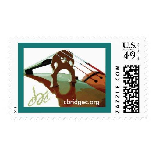 Verde del sello 1 del logotipo del CBC