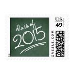 Verde del sello de la graduación de la escritura