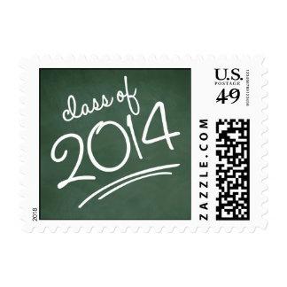 Verde del sello de la graduación de la escritura d