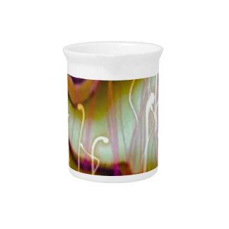 verde del sonido líquido jarra de beber