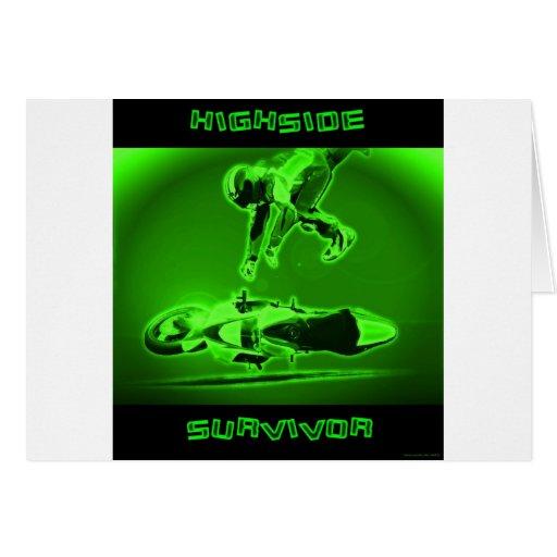 Verde del superviviente de Highside Felicitación