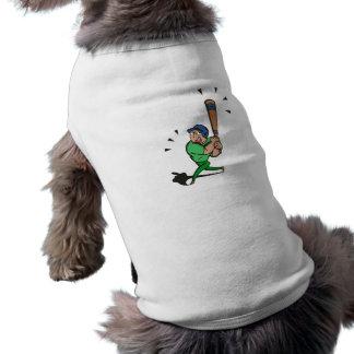 verde del talud camiseta de perro