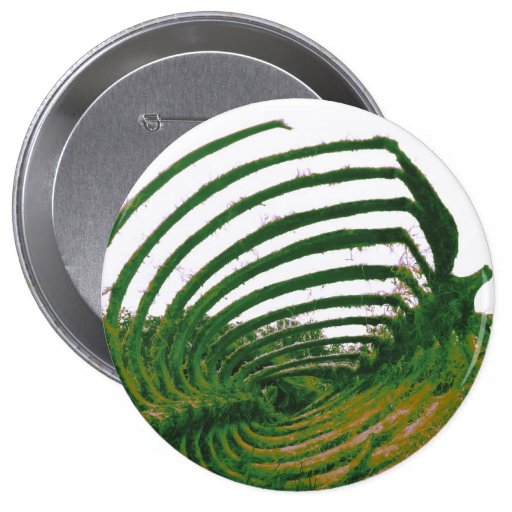 Verde del tatuaje de la ballena pins