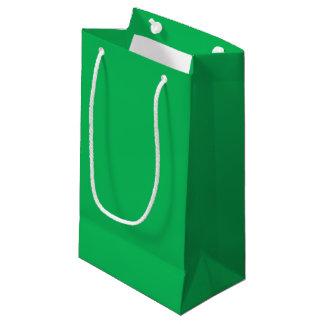 Verde del trébol bolsa de regalo pequeña
