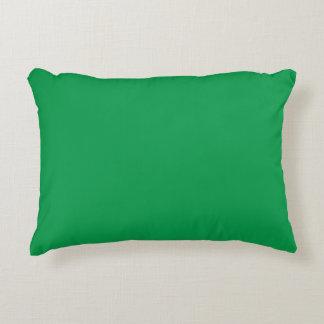 """Verde del trébol"" Cojín Decorativo"
