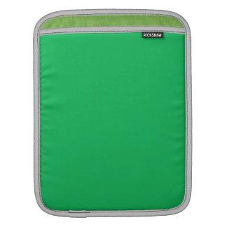 Verde del trébol funda para iPads