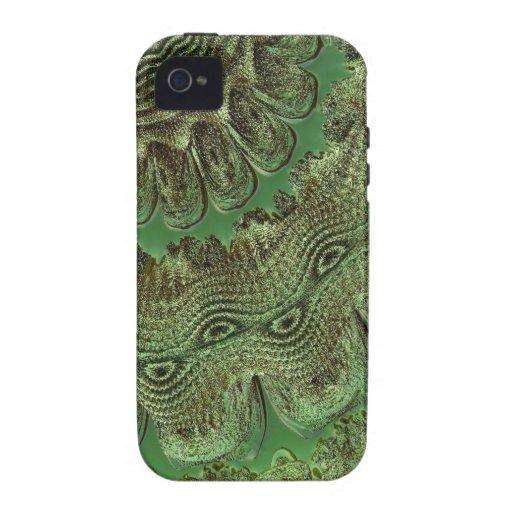 verde digital 02 de la sorpresa Case-Mate iPhone 4 funda
