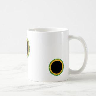 verde duro del sol tazas de café