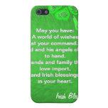 Verde en verde iPhone 5 cárcasa