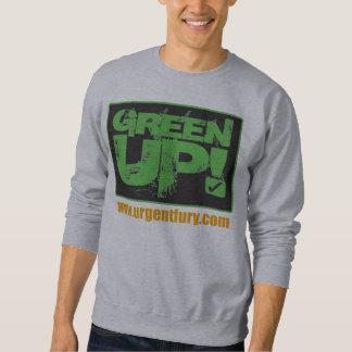 Verde encima de la camiseta