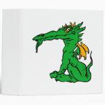 Verde enojado del dragón