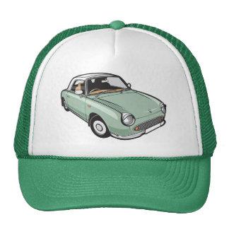 Verde esmeralda de Nissan Figaro Gorros