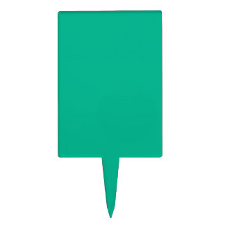 Verde esmeralda figura para tarta