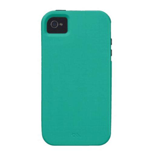 Verde esmeralda iPhone 4/4S funda