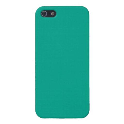 Verde esmeralda iPhone 5 coberturas