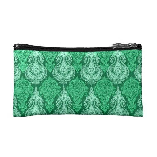 Verde esmeralda Paisley